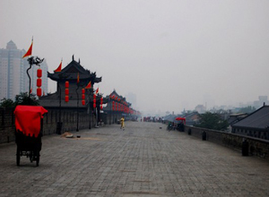 Ancient Xian City Wall
